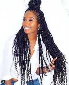 15 Crochet Box Braids Frisuren - My list of women's hairstyles Faux Locs Hairstyles, Girl Hairstyles, Black Hairstyles, Hairstyles Pictures, Hairstyles Videos, Fancy Hairstyles, Wedding Hairstyles, Protective Hairstyles For Natural Hair, Box Braids