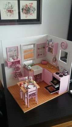 Honest Hot Selling 2017 3d Puzzle Kawaii Diy Dollhouse Miniature Handmade Furniture Bedroom Furniture Model Kit Dollhouse Toys Kid Gift Doll Houses Back To Search Resultstoys & Hobbies