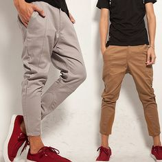 Free Shipping New 2014 Fashion Harem Pants Men Drop Crotch Pants Men Sport Harem Baggy Sweatpants Trousers M-XXL US $24.50 http://www.aliexpress.com/item/Free-Shipping-New-2014-Fashion-Harem-Pants-Men-Drop-Crotch-Pants-Men-Sport-Harem-Baggy-Sweatpants/1878895010.html