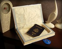 Pin this Secret Safe Book for later! FAST & FREE SHIPPING TO USA! A Secret Safe Book is the perfect way to keep your treasures safe plus makes a surprising and meaningful gift. There's a magnetic closure so your secrets will say secret, (even when your book is upright).