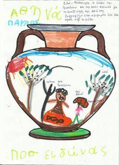 ΕΛΙΑ-ΜΥΘΟΛΟΓΙΑ-ΑΡΧΙΚΗ Greek Language, Olive Tree, Kindergarten, Diy Crafts, Education, Learning, School, Kids, Olives