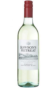 Rawsons Retreat Semillon Sauvignon Blanc South Australia - 12 Bottles Tropical Fruits, Sauvignon Blanc, South Australia, Bottles, White Wines, Glass, Wine, Drinkware, Corning Glass