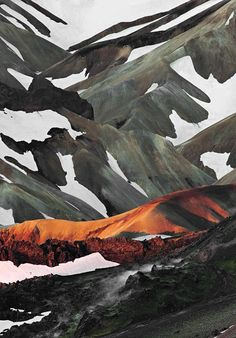 escuyer:  Landmannalaugar, Iceland.  See more of our inspiration on Escuyer website