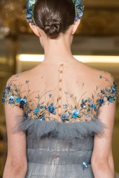girlannachronism: Yanina spring 2014 couture details