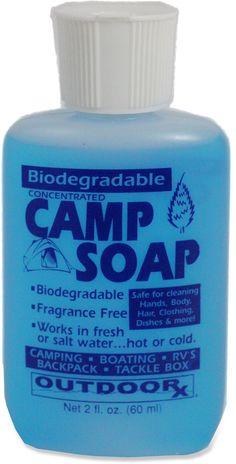 Outdoor Rx Camp Soap - 2 Fl. Oz.