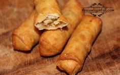 Spring rolls, others on this site sound really, really good. Appetizer Recipes, Dessert Recipes, Appetizers, Desserts, Most Popular Recipes, Egg Rolls, Spring Rolls, Rolls Recipe, Snacks