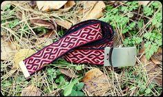 Tablet woven belt by Wonderful Sun