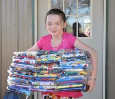Sew pillowcases to be given out to children with cancer