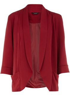Red blazer. Fall must have.