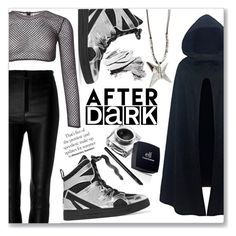"""After dark"" by peta-5 ❤ liked on Polyvore featuring Zeynep Arçay, PA5H, Uno de 50, Marc by Marc Jacobs, e.l.f. and Bobbi Brown Cosmetics"