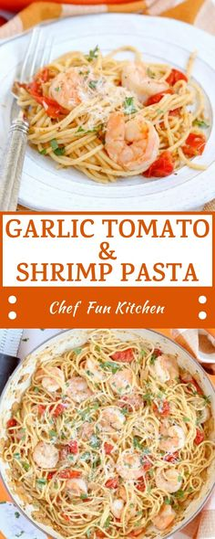 Eat and Lose Weight - Daily Healthy Food Shrimp Dishes, Shrimp Recipes, Pasta Recipes, Chicken Recipes, Dinner Recipes, Cooking Recipes, Healthy Recipes, Spaghetti Recipes, Delicious Recipes