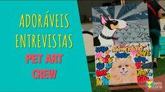 Acompanhe a entrevista com o artista plástico Fabio Polesi, da PET ART CREW, que produz peças de arte com os Pets!