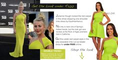 Get Juianne Hough's red carpet look for under R500 with this lime cut out detail skater dress from www.diligo.co.za. Rock Of Ages, Lime Dressing, Julianne Hough, Red Carpet Looks, Celebs, Celebrities, Get The Look, Skater Dress, Celebrity Style