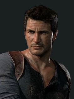 """"""" The Evolution of Nathan Drake """" Drake Uncharted 4, Uncharted A Thief's End, Uncharted Series, Nathan Drake, King Of Fighters, Video Game Characters, Video Game Art, Male Face, Game Art"""