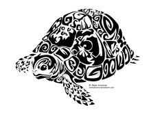 celtic turtle tattoo