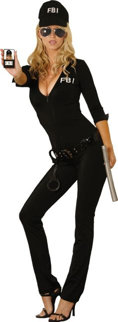 sexy fbi agent costume for women party city