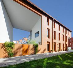 Court-housing Cortinghborg Groningen, Groningen, 2013 - architecten en en