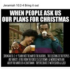 We must know the feasts and days for us; YaHuWaH people.  Do not participate in any holidays. Only in the times established by YAH