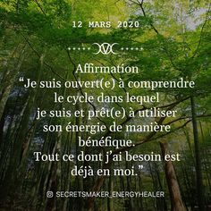"5 mentions J'aime, 0 commentaires - Victoria (@secretsmaker_energyhealer) sur Instagram : ""Aujourd'hui je vous invite a comprendre votre cycle de vie afin d'avancer avec lui... pour se…"" Invitation, Cycle, Afin, Affirmation, Victoria, Instagram, Moving Forward, D Day, Invitations"
