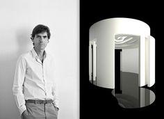 AD Intérieurs 2012. Le pavillon en ellipse de Pierre Yovanovitch.