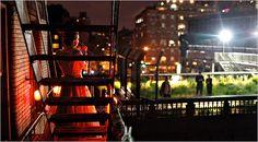 A Fire Escape Cabaret for High Line Park Strollers - NYTimes.com