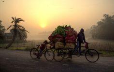 Sunrise Photo by Debajit Bose -- National Geographic Your Shot