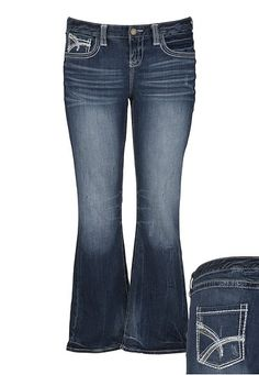 Maurices Premium Studded Medium Wash Jeans available at #Maurices.  Not sure how many of you have tried these jeans, but they are great for plus size figures.