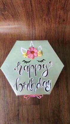 Diy Crafts Hacks, Diy Crafts For Gifts, Diy Arts And Crafts, Diy Birthday, Birthday Cards, Birthday Gifts, Paper Crafts Origami, Diy Gift Box, Making Ideas