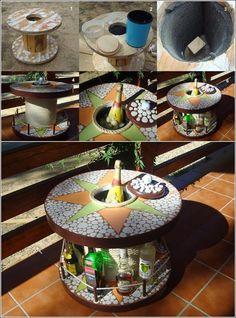 Outdoor mini lounge bar.☆☆★☆