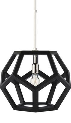 DIY Dodecahedron Pendant Lamp View Along the Way | Apartment Therapy