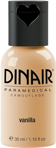 Dinair Airbrush Makeup Foundation | Vanilla 1.15 oz | Paramedical Line - Cover Scars, Acne, Tattoos, Vitiligo, Under Eye circles, Sun Spots -- Find out more about the great product at the image link.