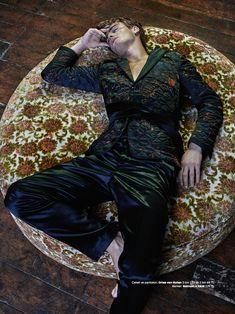 GQ Turkey: Ben Allen Models Pajama Inspired Styles