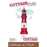 CottageCutz Die - Lighthouse With Clouds