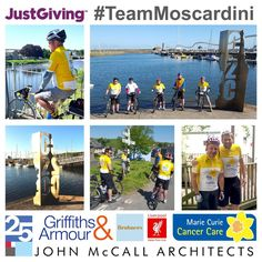 complete their charity bike ride - John McCall Architects Marie Curie, Liverpool, Charity, Architects, Bike, In This Moment, Celebrities, Instagram Posts, Bicycle
