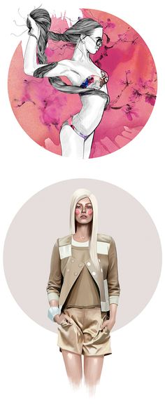 Fashion Illustrations by Mustafa Soydan