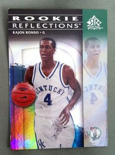 A Rajon Rondo rookie card - for sale now! (In his Kentucky Wildcats uniform 18b3c9ed2