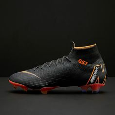 separation shoes 6e768 9eaa6 Nike Mercurial Superfly VI 360 Elite FG - Black Total Orange White