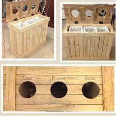 On progress project. #perabot #palletwork #wood #woodwork #kayu #kayupalet #dustbin #woodtrash #banjarmasin #banjarbaru #furniture #mebel #mejakayu #kursikayu #simplycreative de simply.creative_