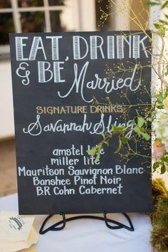 wedding chalkboard ideas   chalkboard wedding menu