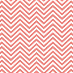 Coral and white chevron zig zag pattern by BreezePrintCompany, $6.00  https://www.etsy.com/listing/180221861/coral-and-white-chevron-zig-zag-pattern?ref=listing-5