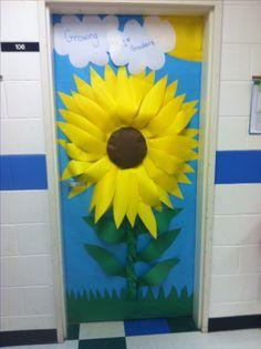 Puertas hermosamente decoradas...