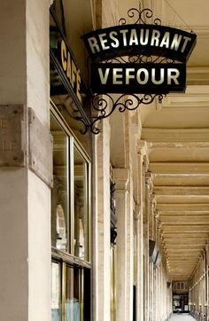 Paris, Le Grand Vefour, 17 rue de Beaujolais