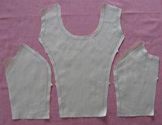 princess seam pattern pieces