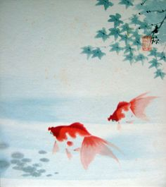 Koi  Japan Art - Quick painting by musigny on Flickr.