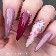 Beautiful nails by Ugly Duckling Master Educator @ amyduclosnails