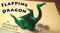 Origami dragon. How to fold origami dragon? - Video tutorial
