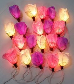 Hey, I found this really awesome Etsy listing at https://www.etsy.com/listing/189211653/christmas-string-lights-flower-purple