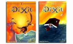 Dixit 3 y Dixit 2 Books, Board Games, Adventure, Libros, Book, Book Illustrations, Libri