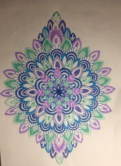Cute colorful mandala art ideas