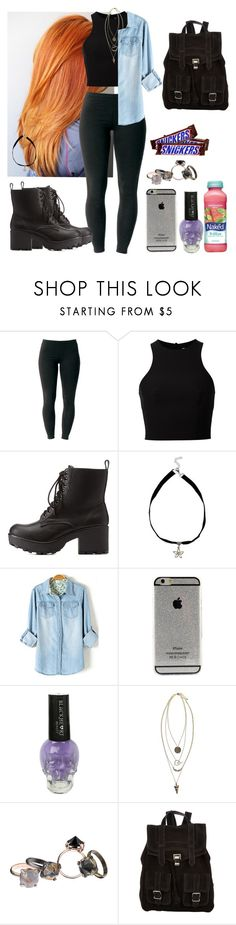 """i know one or two sh*ts"" by jabhy-bieber ❤ liked on Polyvore featuring Joe Browns, T By Alexander Wang, Charlotte Russe, Boohoo, Made Her Think, Mangosteen, Proenza Schouler, women's clothing, women and female"